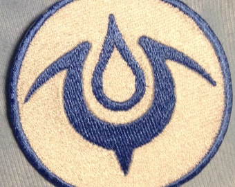 Mark of Naga/Brand of the Exalt Embroidered Patch Made to Order