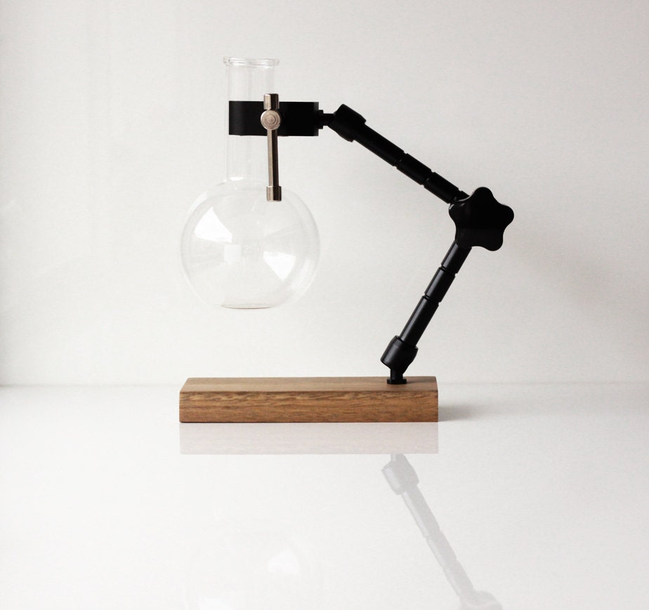 The Bunsen Designer Oil Burner Infuser on retro modern office