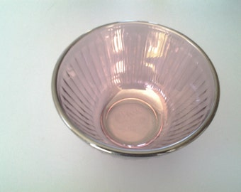 Vintage Plum Colored Purex Mixing Bowl/ Made in USA