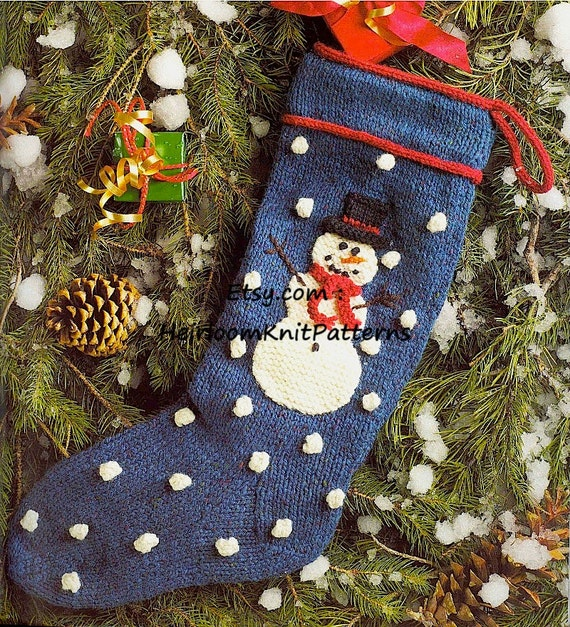 247 Knitting Pattern for Snowman Christmas by ...