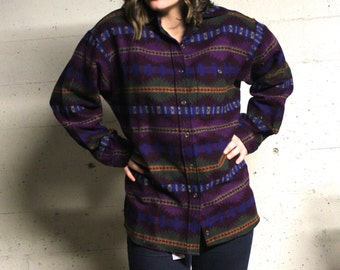 Pendleton Flannel Aztec 100% Wool