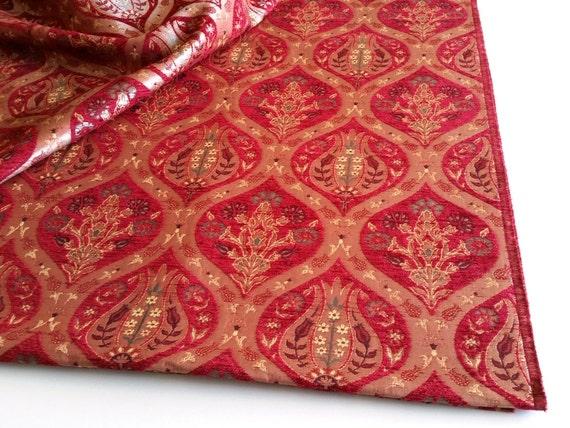 chenille tissu d 39 ameublement tissus pais style oriental par mahzen. Black Bedroom Furniture Sets. Home Design Ideas