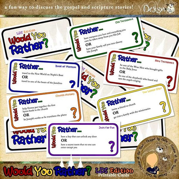 Fabulous image intended for would you rather cards printable