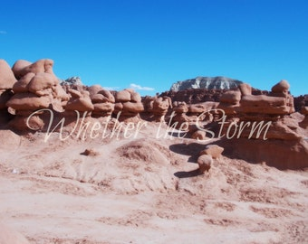 "Goblin Valley print ""Valley of the Goblins"""