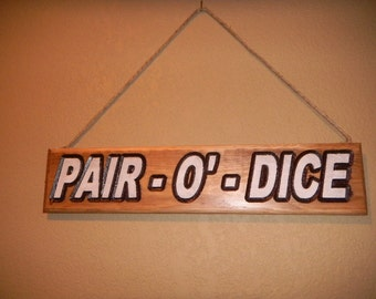Wooden custom carved signs sutable for interior or exterior use.