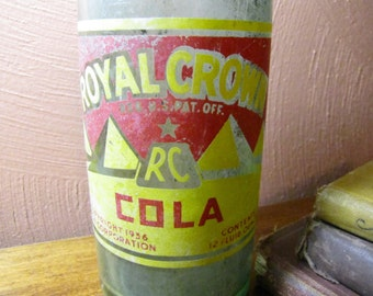Vintage Royal Crown Cola Bottle