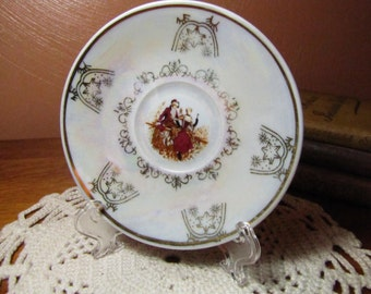 Vintage Decorative Miniature Plate