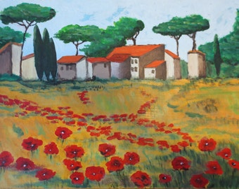 Toscane landscape