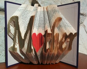 Mother - Folded Book Art - Fully Customizable, Mom, Mother's Day