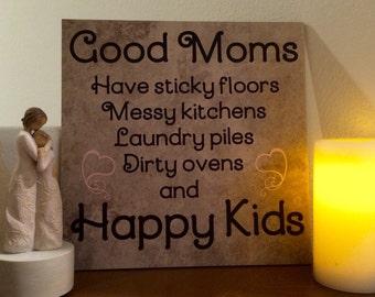 Good Moms 12x12 Decorative Tile