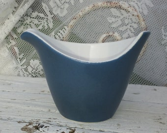 Separate dish from the retro time in beautiful mat glaze in asymmetric shape/Vintage/Dish/Bowl/antiques/Design/Nostalgic/