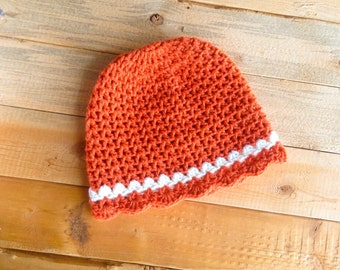 Pattern #27 Scalloped-Edge Beanie - Knitting 60 Projects