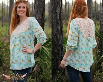 Women's Wanderer Tunic PDF Sewing Pattern ... Sizes XS-XXXL