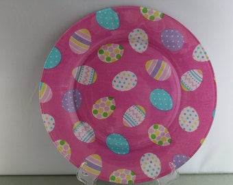 Easter Egg Decorative Plate