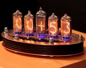 5-tube Nixie Clock V1 (DIY Kit, with copper top)