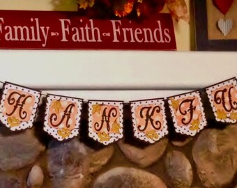 Thankful Banner for the Thanksgiving Holiday