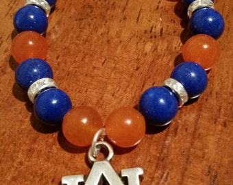 Auburn Tiger Bracelet