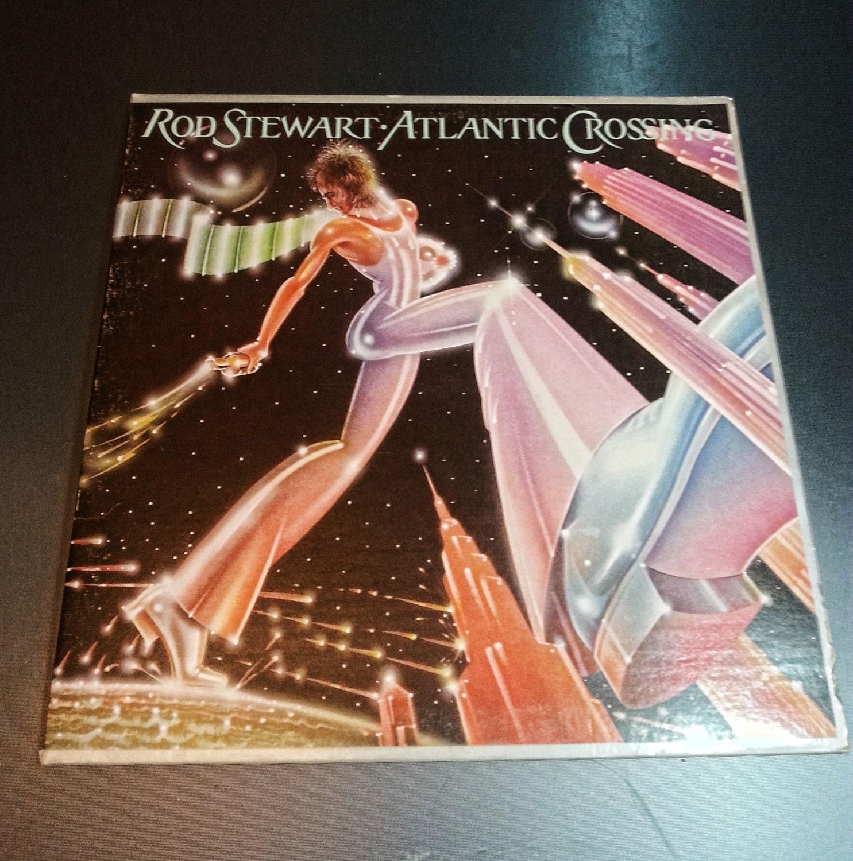 Rod Stewart Atlantic Crossing Vinyl Lp By Ipodepot On Etsy