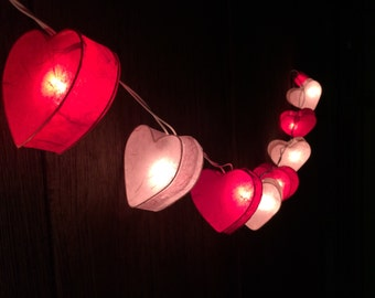 Red String Lights For Bedroom : 20xOwl paper string light for decor bedroom wedding