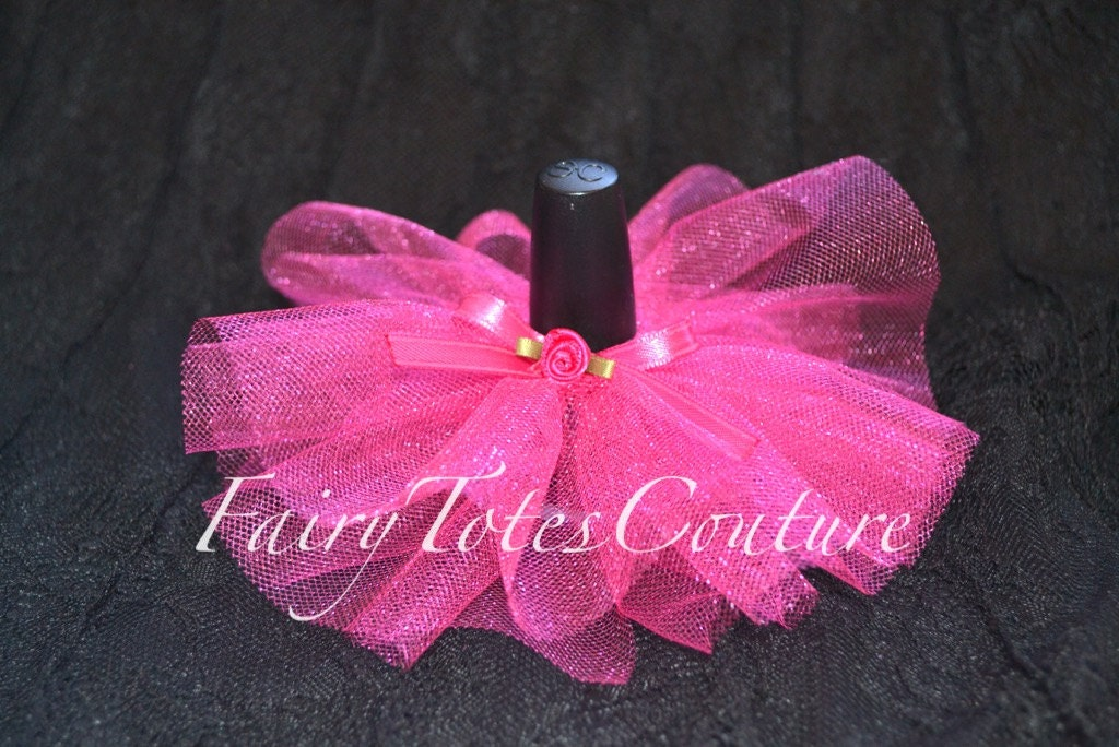 it 39 s a girl nail polish tutu baby shower favors