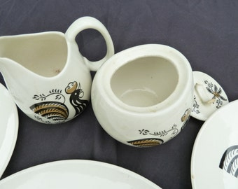 REDUCED Vintage Good Morning by Royal Dinnerware Made in USA