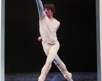 Vintage art print poster litho NOS BARYSHNIKOV K. Dunkin American Ballet Theater dance