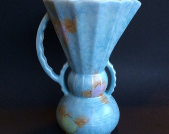 Beswick Large Art Deco English Pottery Pitcher Jug or Vase 394