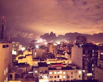 Brazil Photography, Brazilian Decor, Rio Print Photo, South American Wall Art