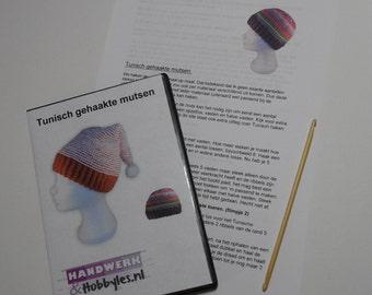 Education Kit Tunisch crochet hats