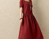 Women summer dress long dress (D1034)