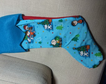 Charlie Brown stocking