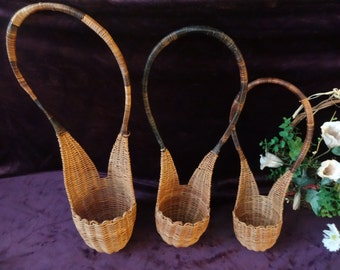 Sping Sale! Set of Three Super Cute French Flower Basket