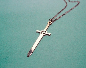 ADVENTURE TIME Finn's Sword necklace - 3 colors available