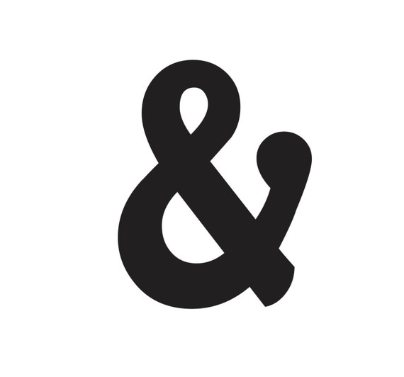 And sign sign wedding decor ampersand sign by evyanndesigns for Ampersand decor
