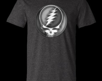 Roots Organic Steal Your Face Grateful Dead Shirt