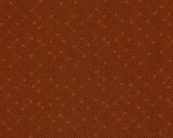 Thimbleberries - Autumn Sunset Rust Crosshatch Fabric