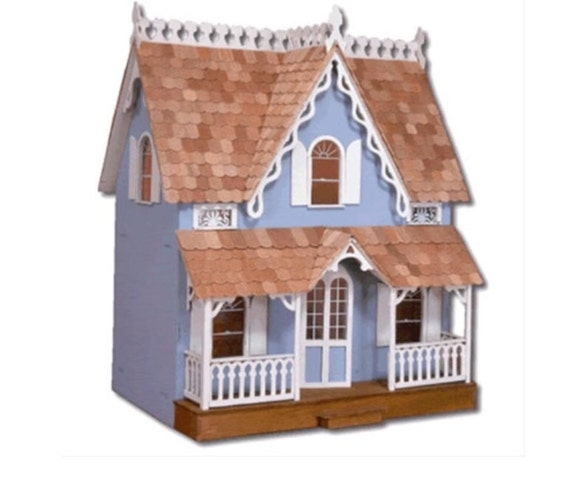 Victorian cottage dollhouse kit Victorian cottages kit homes