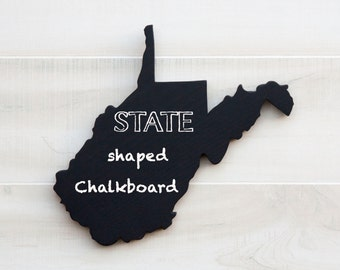 Wv State Cutout Etsy