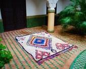 boucherouite rug , rag