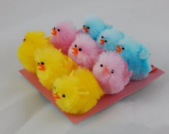 Miniature Chickens, Terrariums, Easter, Party Favors, Crafts