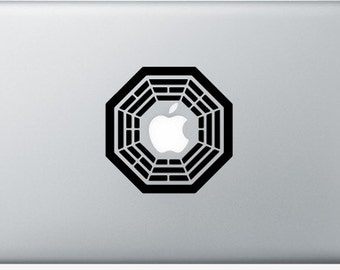 Stickers Macbook 11-13-15-17 inches - Lost