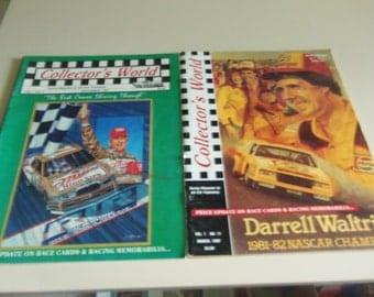 2 Nascar Collectors World Racing Magazines