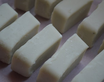 3 bars of handmade and all natural soap