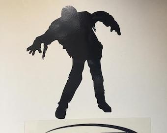 Zombie Vinyl Decal