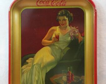 Vintage Rare 1936 Coca Cola tray in great condition
