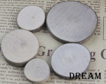 blank round wood pieces-blank small wood-perfect for hand drawing or hand painting