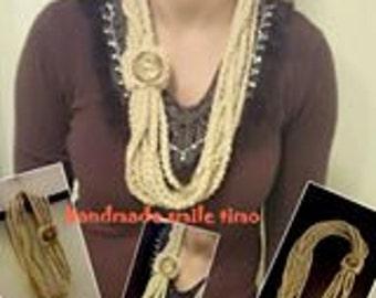 crochet handmade scarf /women scarfs /classic scarfs for sale