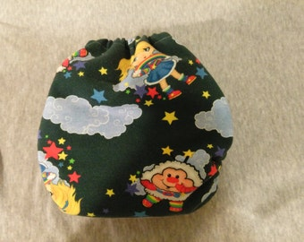 Rainbow brite cloth diaper