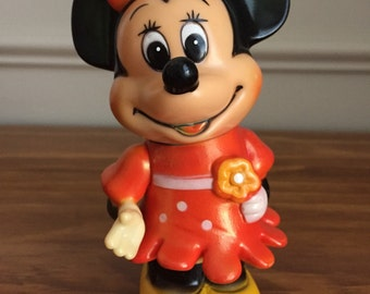 Minney Mouse vintage collectible bank