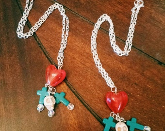 Be still my beating heart necklace
